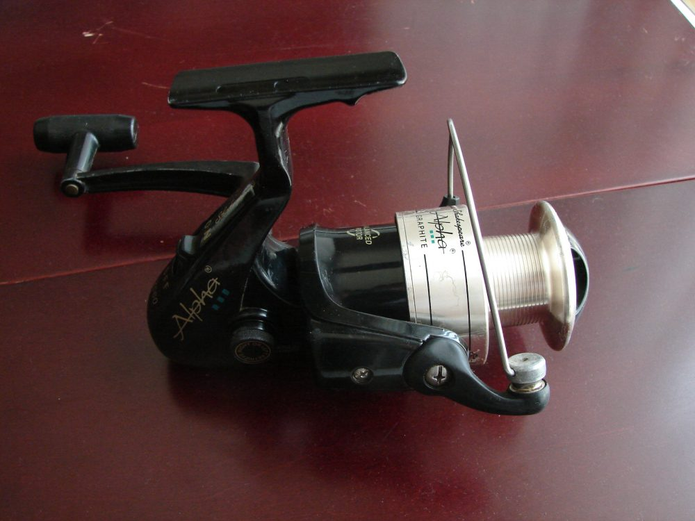 Shakespeare alpha spinning fishing reel sharpreel for Shakespeare fishing reels