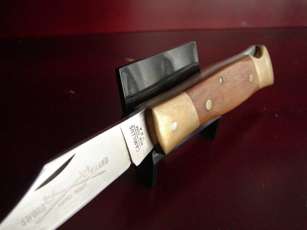 Camillus Sword Brand #4 Lockback Folding Knife