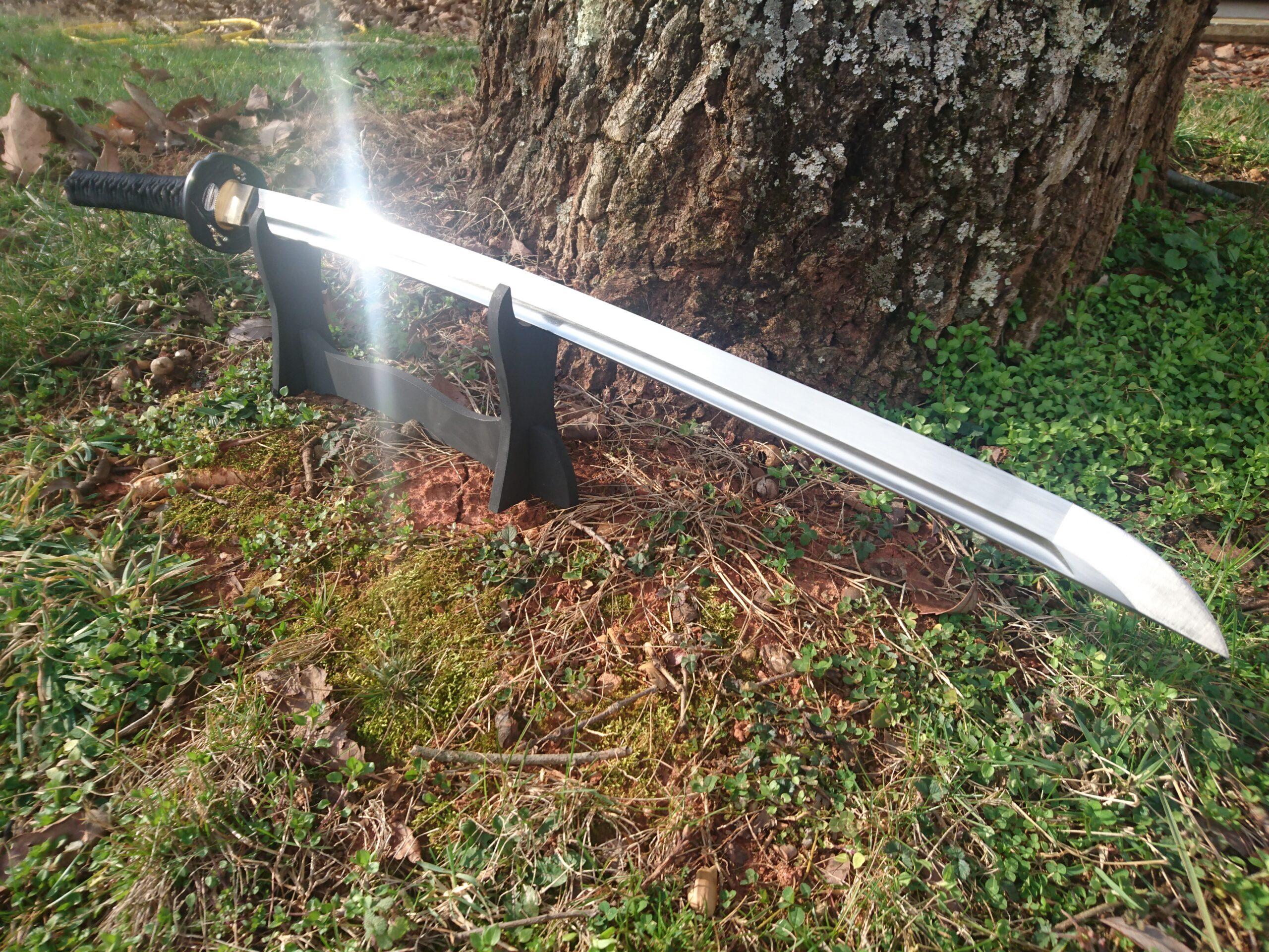 1055 Carbon Steel Katana Sword